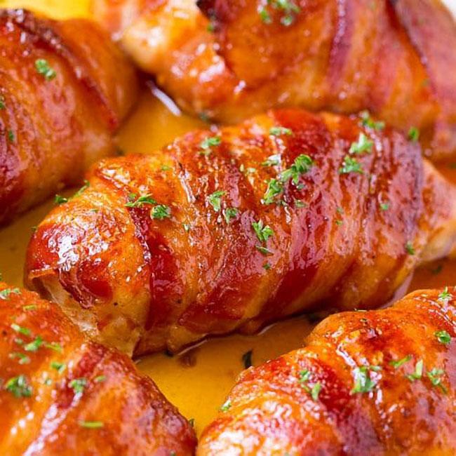 Frango assado no forno com batatas
