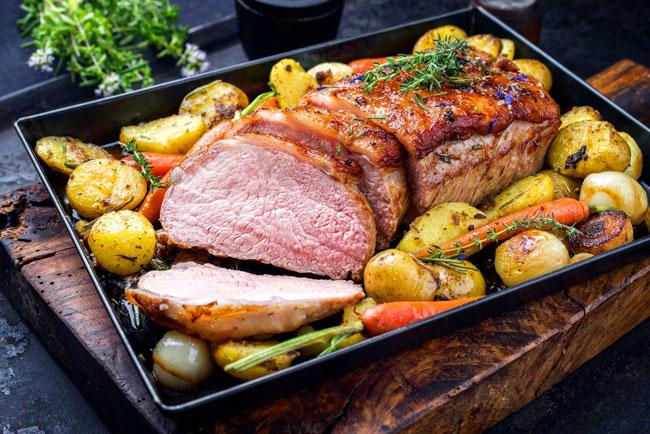 a carne assada perfeita