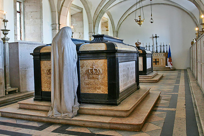 sepultados os reis de Portugal