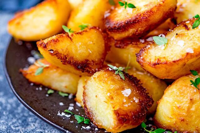 batatas assadas perfumadas