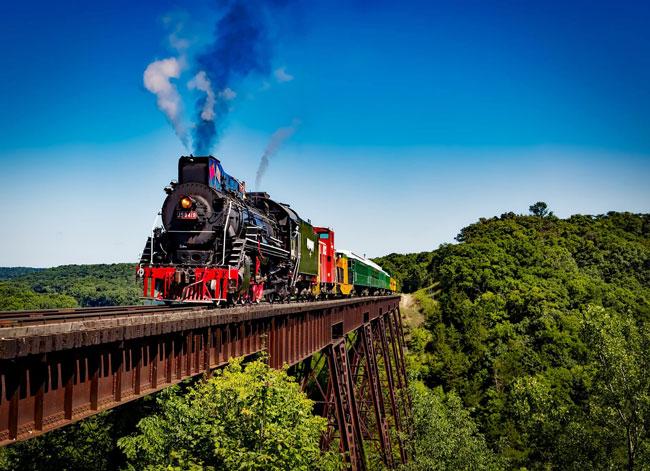 Viagens de sonho em comboios de luxo