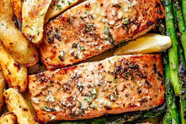 3 receitas de salmão assado irresistíveis | ncultura
