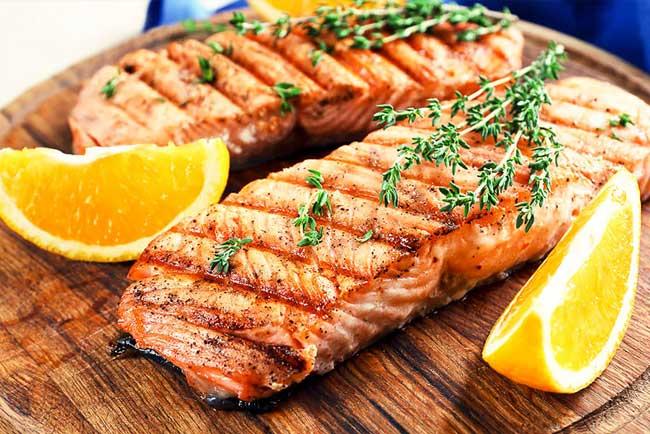 receitas de salmão assado no forno