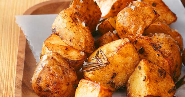 4 receitas de batatas assadas
