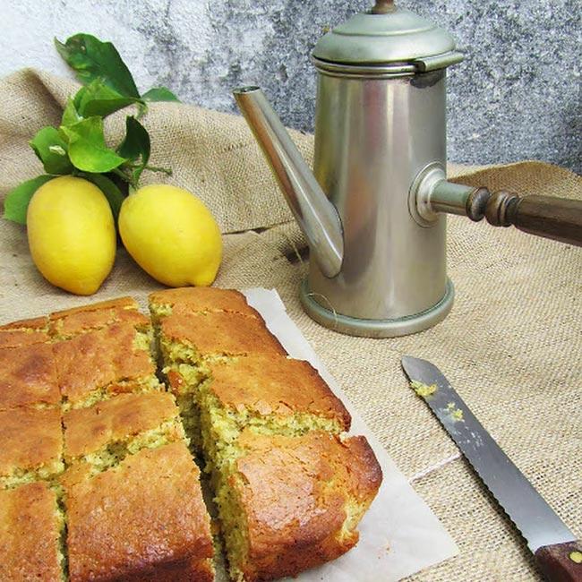 receitas de bolo de limão e aveia