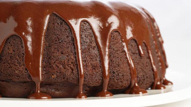 receitas de bolo de chocolate com cobertura