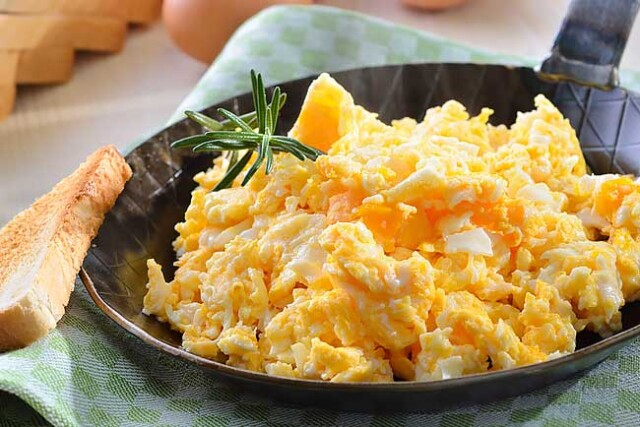 os melhores ovos mexidos do mundo