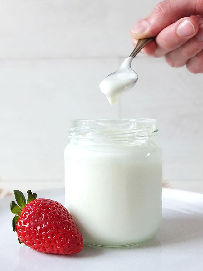Coma um iogurte por dia