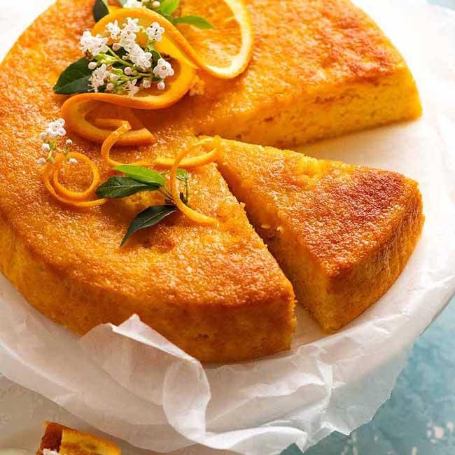melhor bolo de laranja do mundo