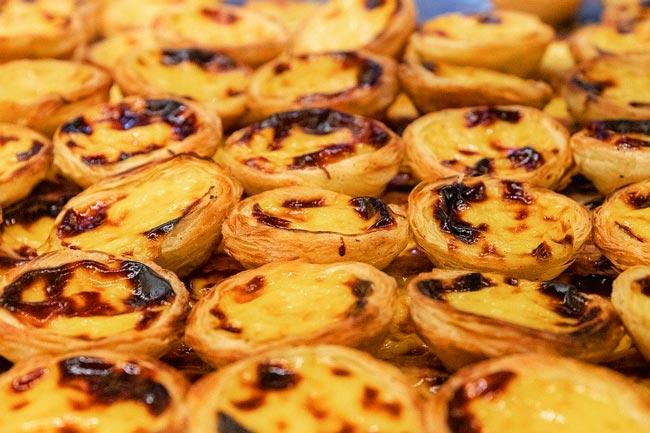 receitas de pastéis de nata tradicionais