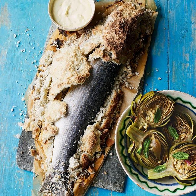 receitas de peixe assado