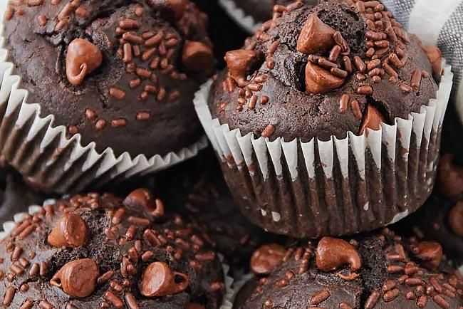 melhores queques de chocolate do mundo