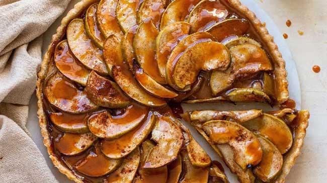 receitas de tarte de maçã