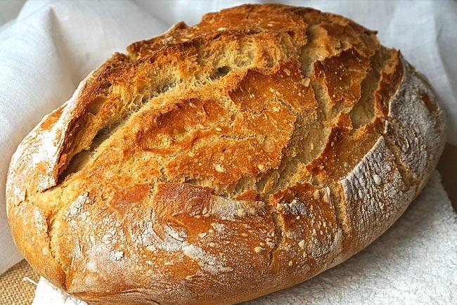 receitas de pão caseiro muito fáceis
