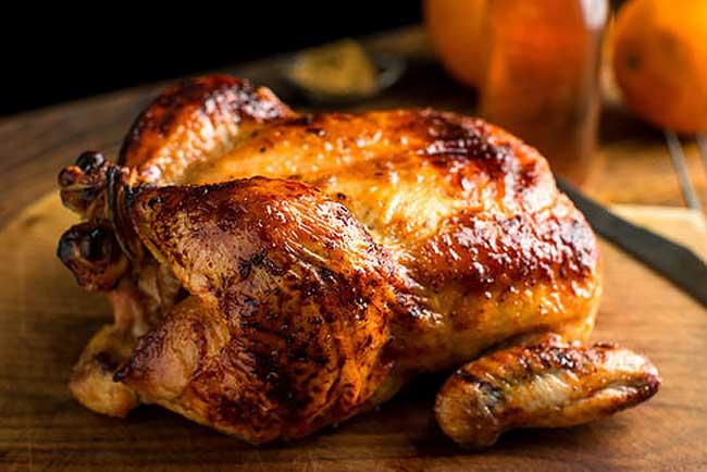 4 das melhores receitas de frango assado com mel. Divinal!