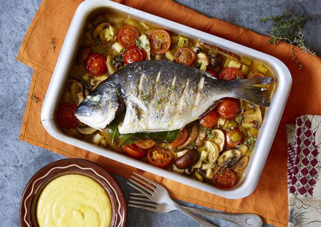 Aprenda a preparar peixe assado