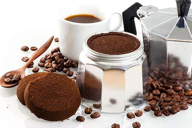 aproveitar a borra de café