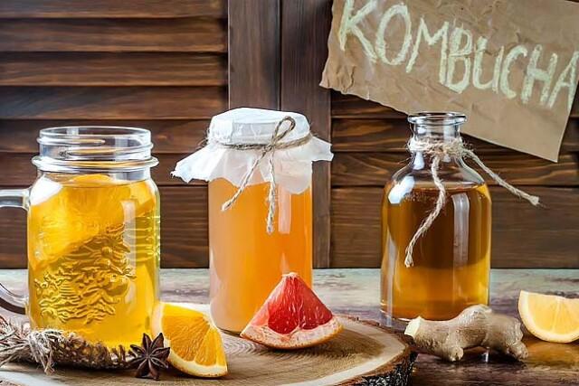 benefícios da Kombucha e receitas