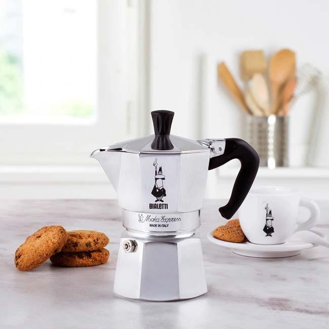 fazer um café delicioso na Moka