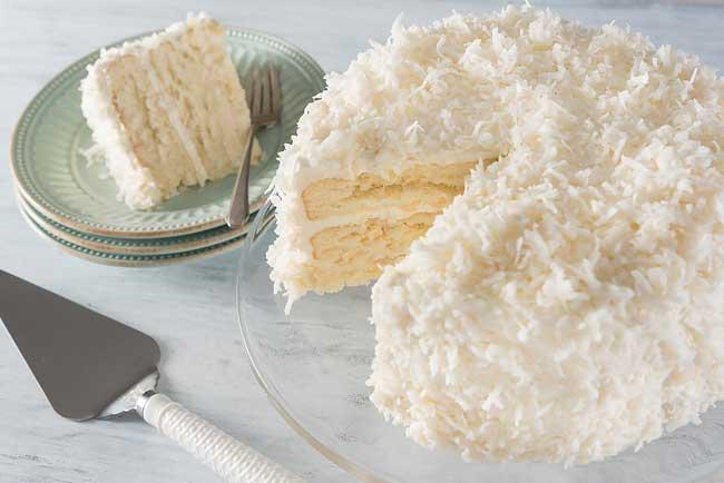 receitas de bolo de coco