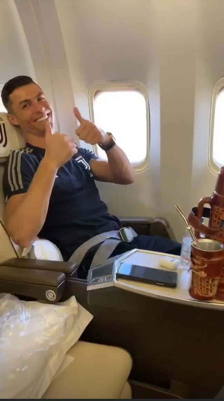 Cristiano Ronaldo e outros galáticos trocaram o café