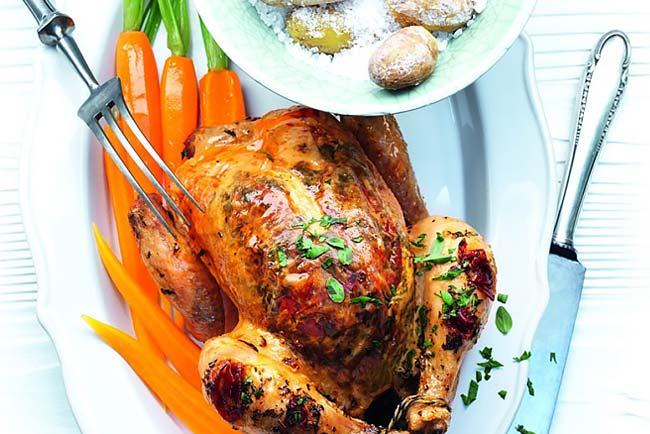 Faça frango assado