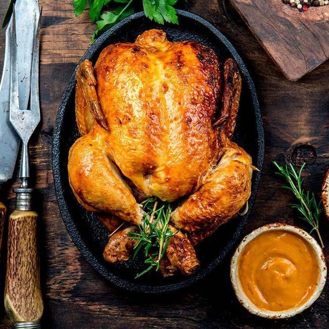 Faça frango assado no forno