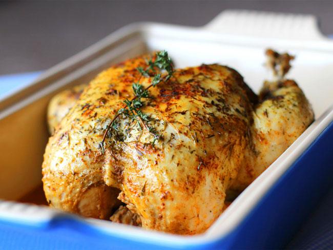 erros básicos ao assar frango