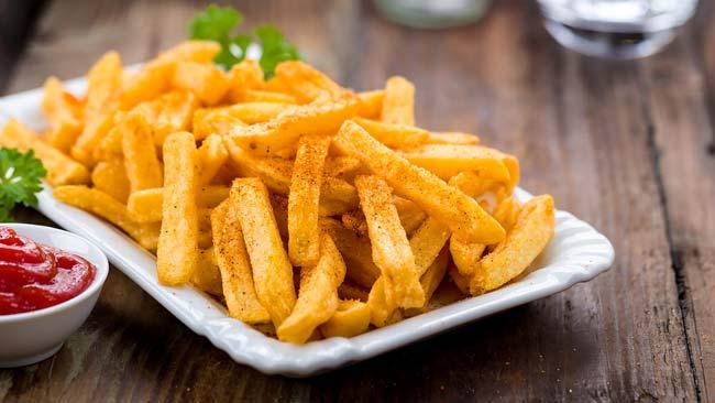 melhores batatas fritas de sempre