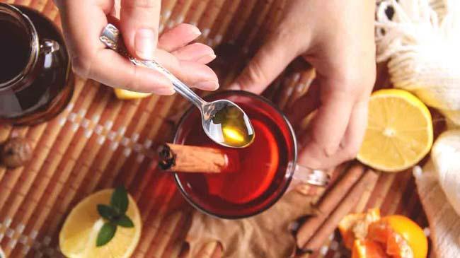Canela com mel