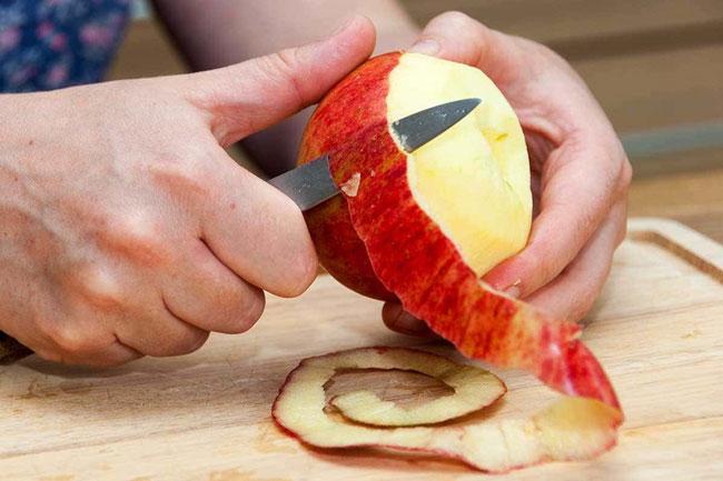 Aproveite as cascas de maçã