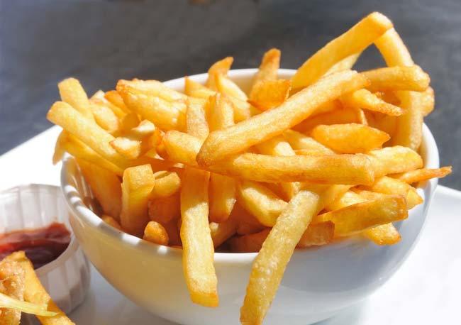 as melhores batatas fritas