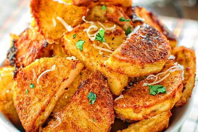 As batatas assadas