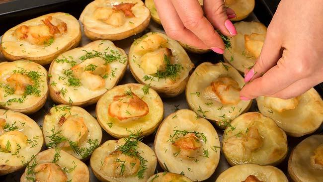 estas batatas assadas suculentas