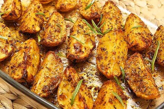 As batatas assadas mais suculentas
