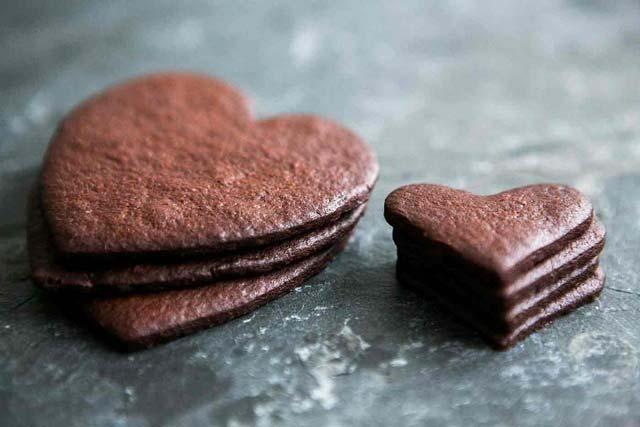 melhores bolachas de chocolate