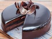 de bolo de chocolate