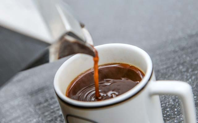 Café coado ou expresso