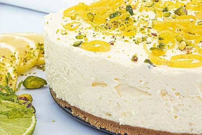 receitas de cheesecake de limão