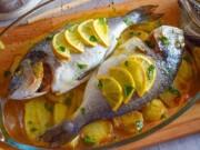 peixe assado como