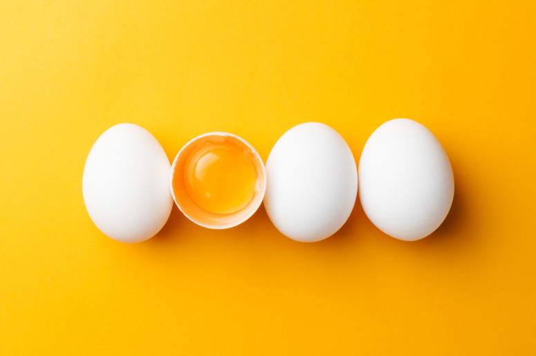 ovo para eliminar a caspa