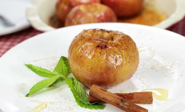 receitas de maçã assada