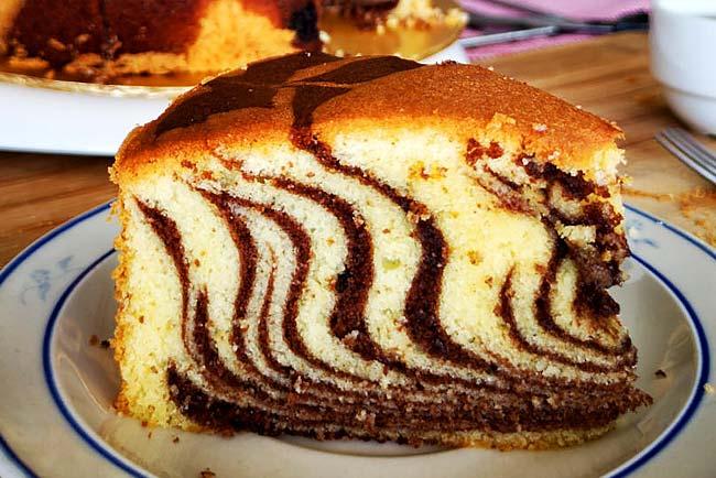 receitas de bolo mármore fofinho