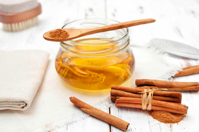 benefícios do mel com canela