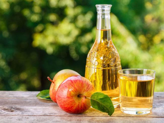 Vinagre de maçã para o cabelo