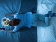 alimentos proibidos antes de dormir