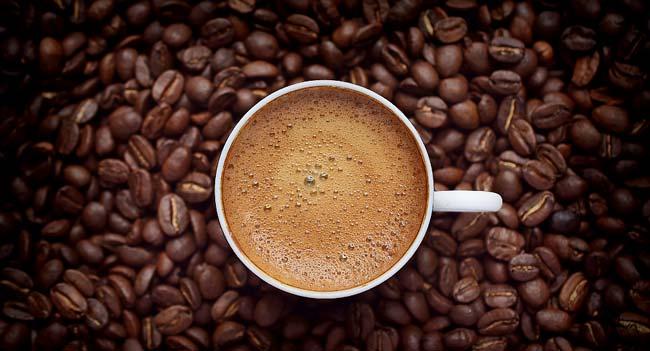 Beba café todos os dias