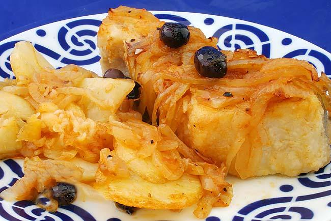 bacalhau assado como nos restaurantes