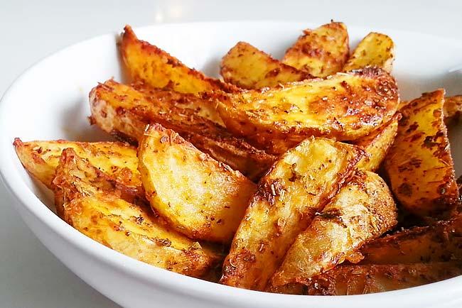 melhor batata assada no forno