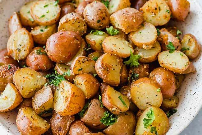 Batatas assadas incrivelmente deliciosas